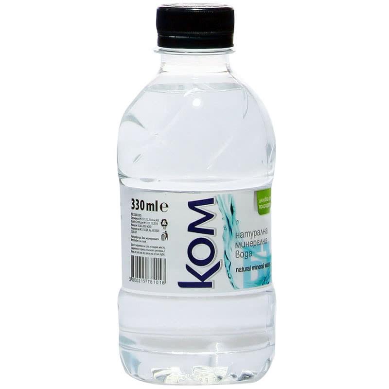 Минерална вода КОМ 0.330л.