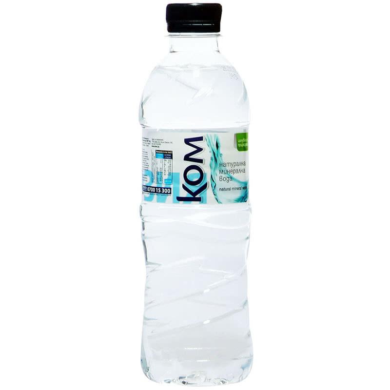 Минерална вода КОМ 0.500л.