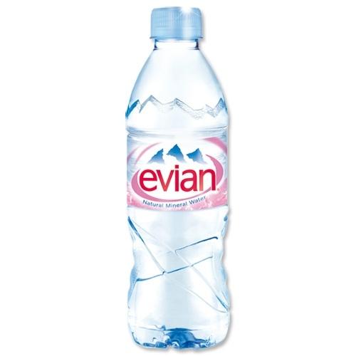 Минерална вода Евиан / Evian 0.5л.
