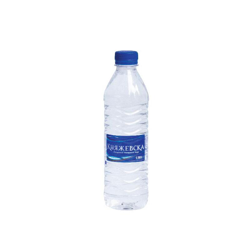 Минерална вода Княжевска 0.5л.