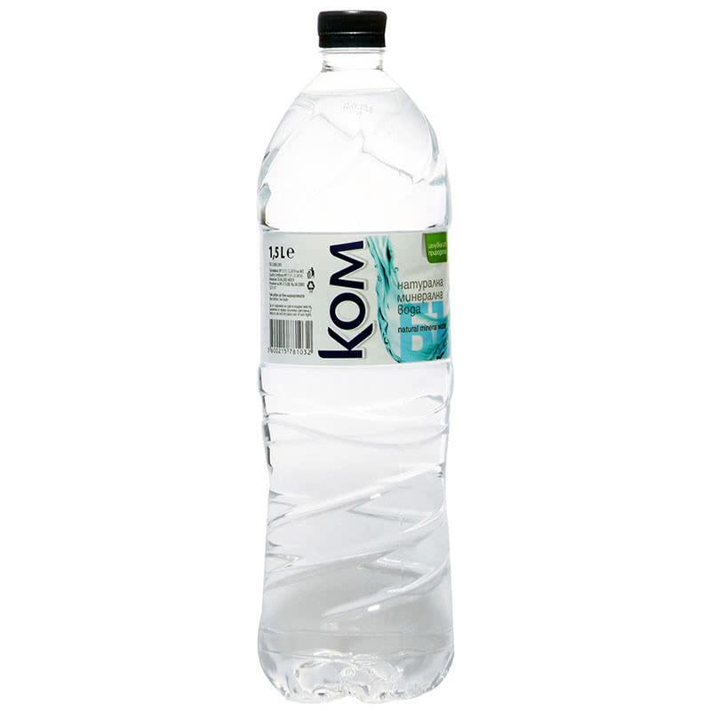 Минерална вода КОМ 1.500л.