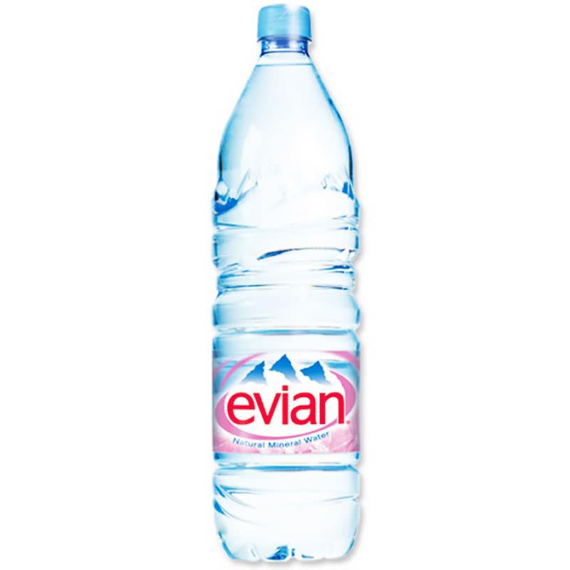 Минерална вода Евиан / Evian 1.5л.