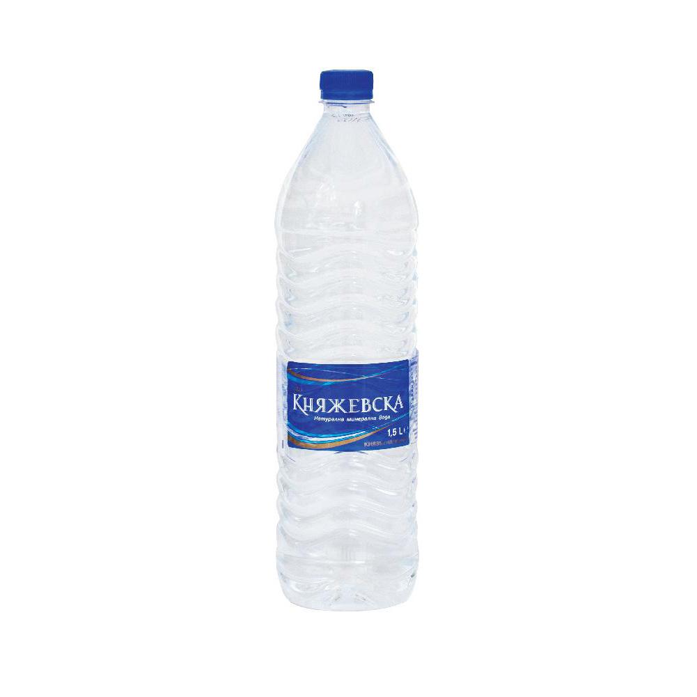 Минерална вода Княжевска 1.5л.