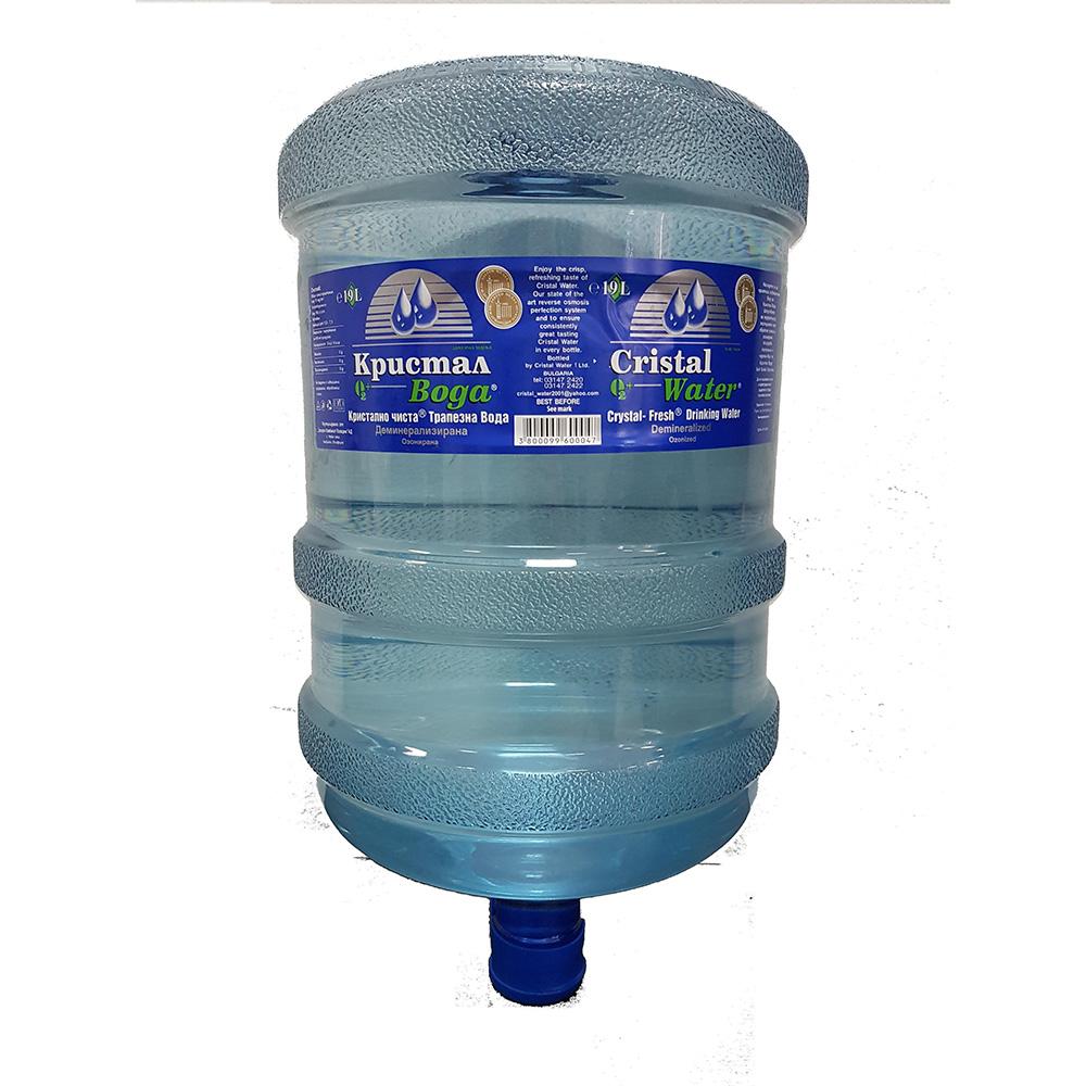 Трапезна вода Кристал 19.7л.