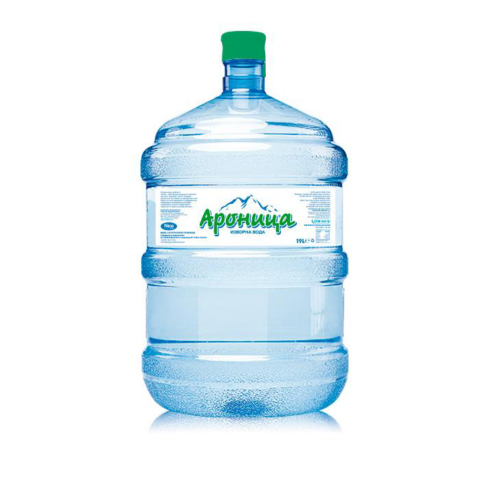 Изворна вода Ароница 19л.