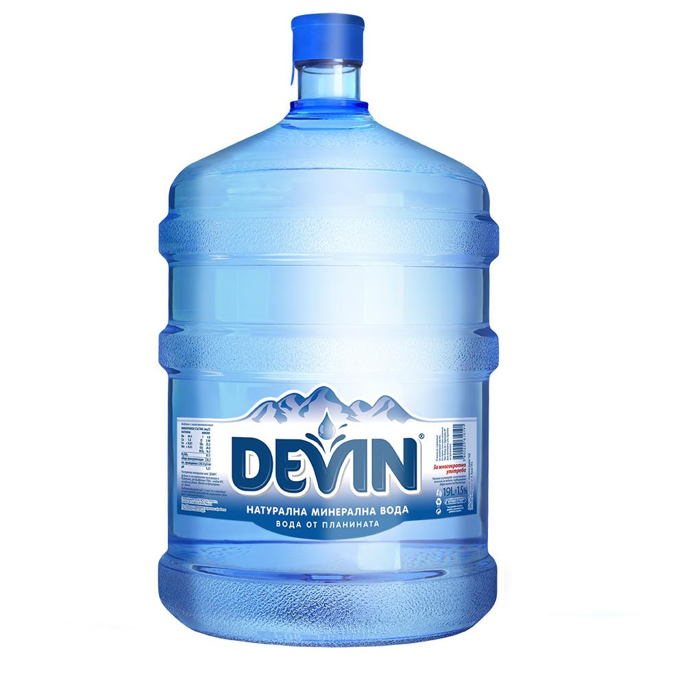 Минерална вода Девин 19л.
