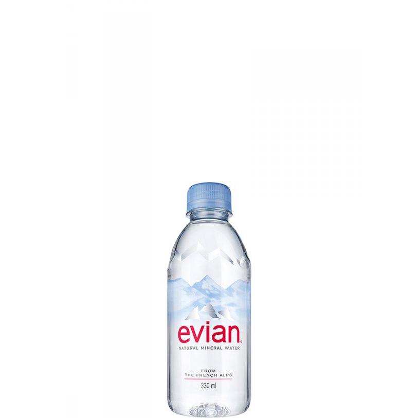 Минерална вода Евиан / Evian 0.33л.