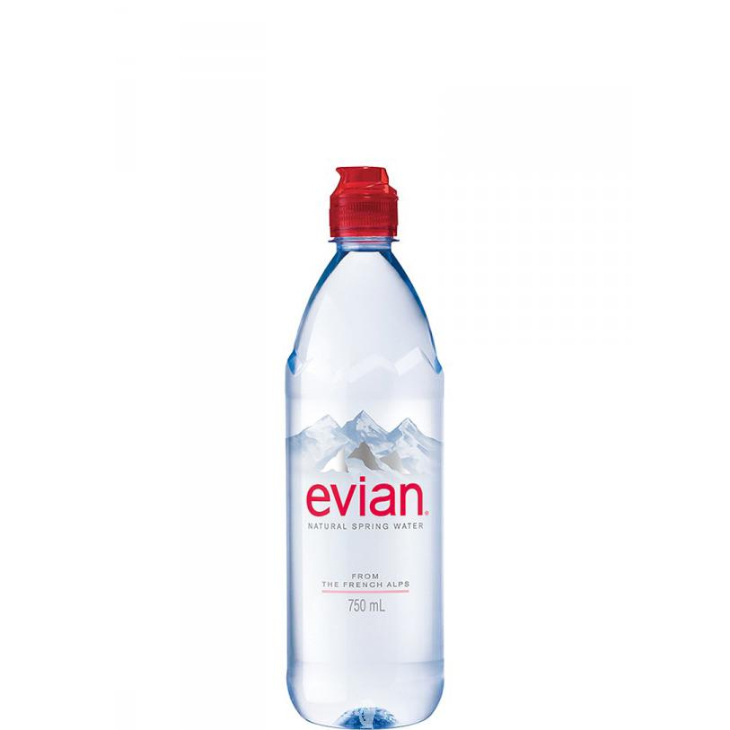 Минерална вода Евиан / Evian 0.75л.
