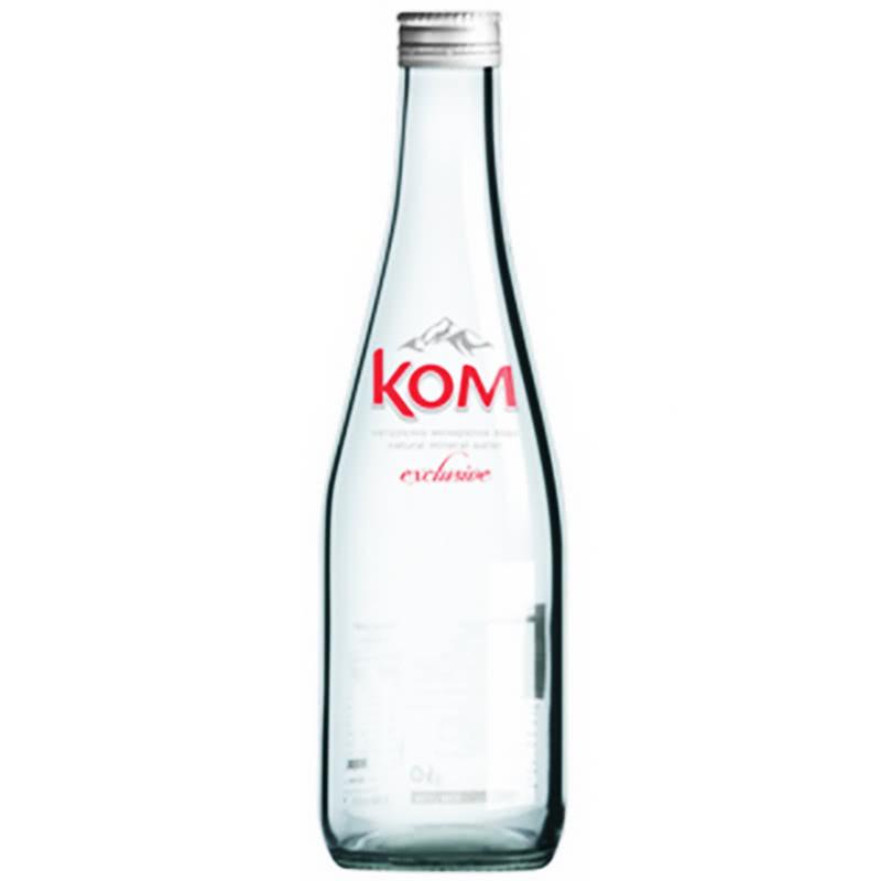 Минерална вода КОМ – стъклена бутилка – 0.330л.