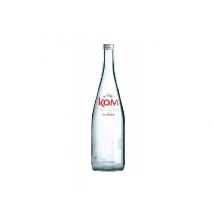 Минерална вода КОМ – стъклена бутилка – 0.750л.