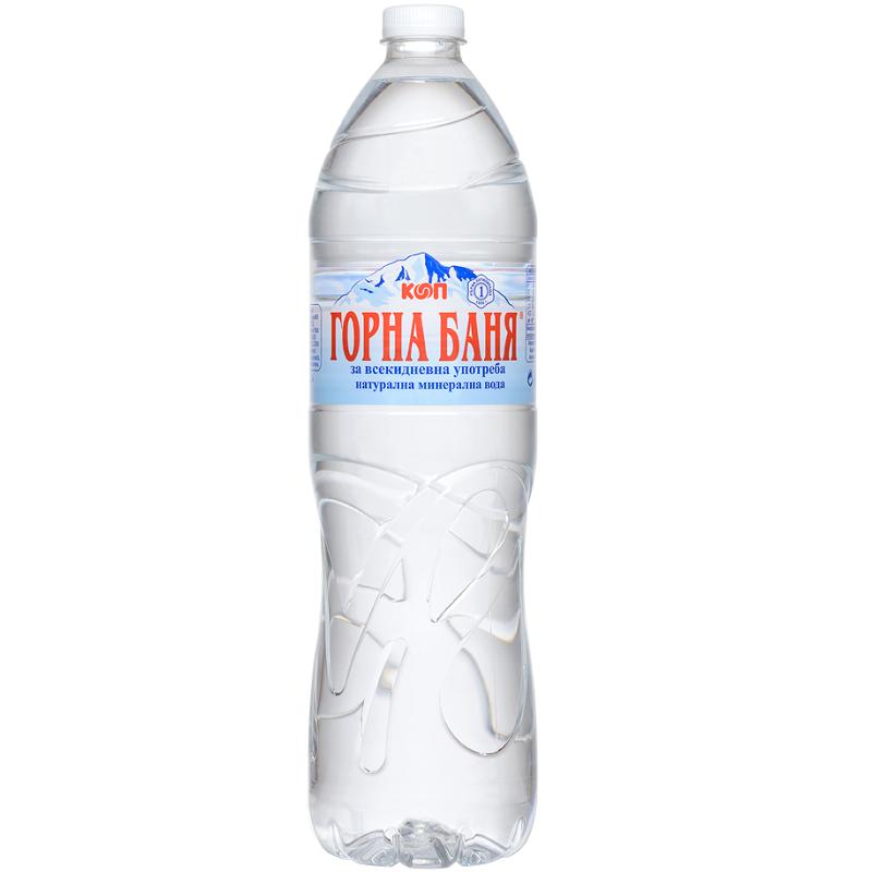 Минерална вода Горна Баня 1.5л.