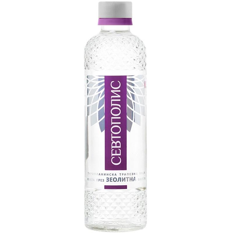 Трапезна вода Севтополис – стъклена бутилка – 0.330л.