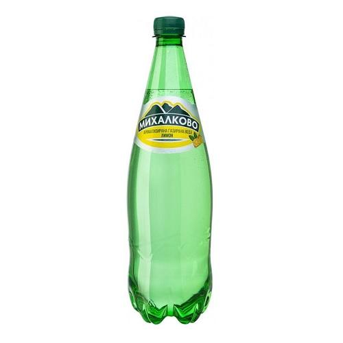 Естествено газирана минерална вода Михалково Лимон 1.0л.