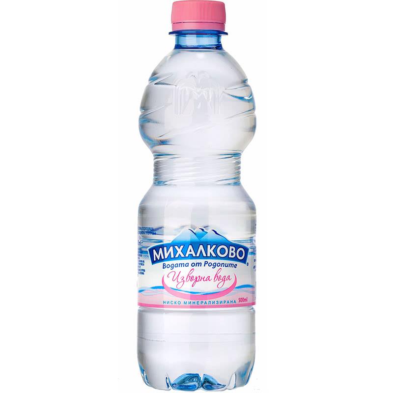 Изворна вода Михалково 0.5л.