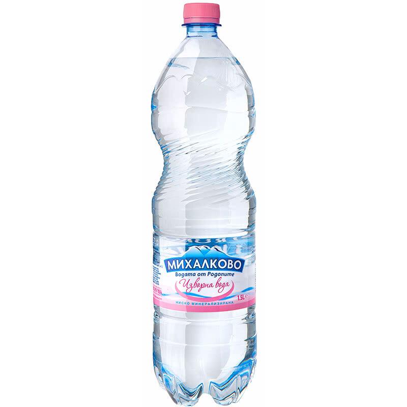 Изворна вода Михалково 1.5л.