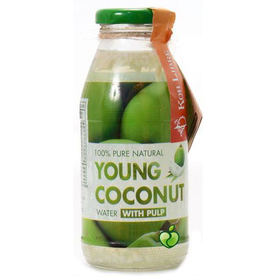 Кокосова вода Koh Libre – 100% натурална 0,250л.
