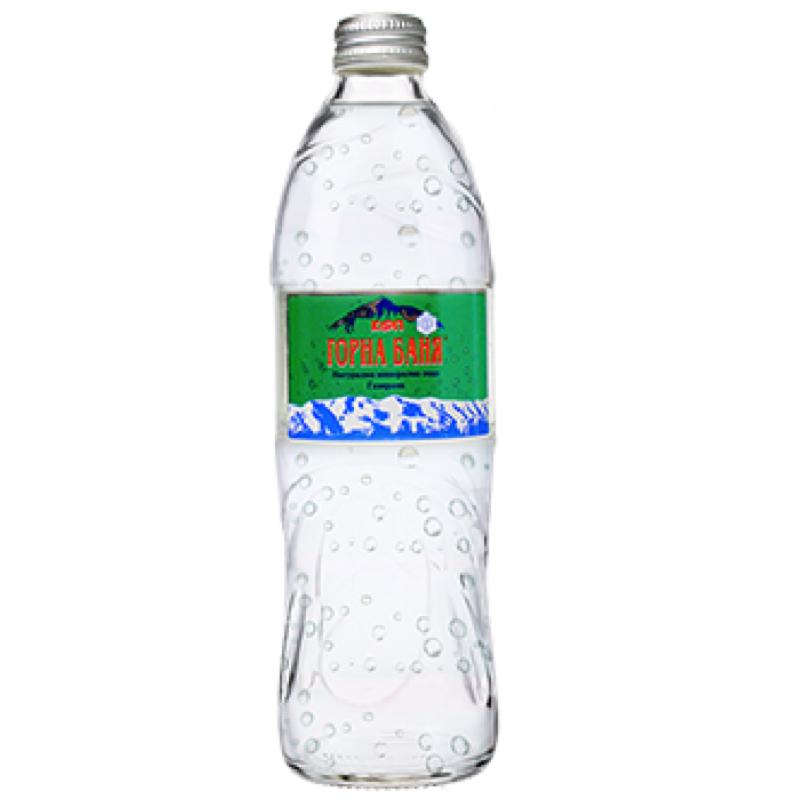 Газирана вода Горна Баня – стъклена бутилка – 0.500л.