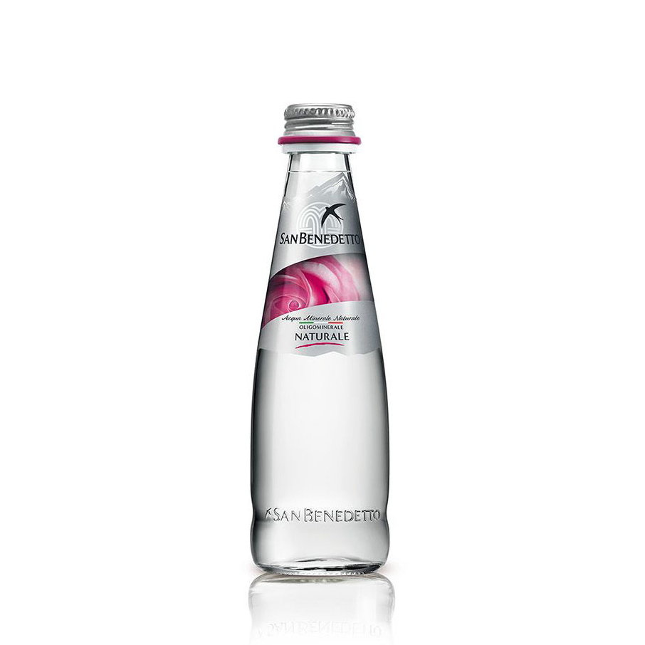 Минерална вода Сан Бенедето / San Benedetto стъклена бутилка – 0.25л.
