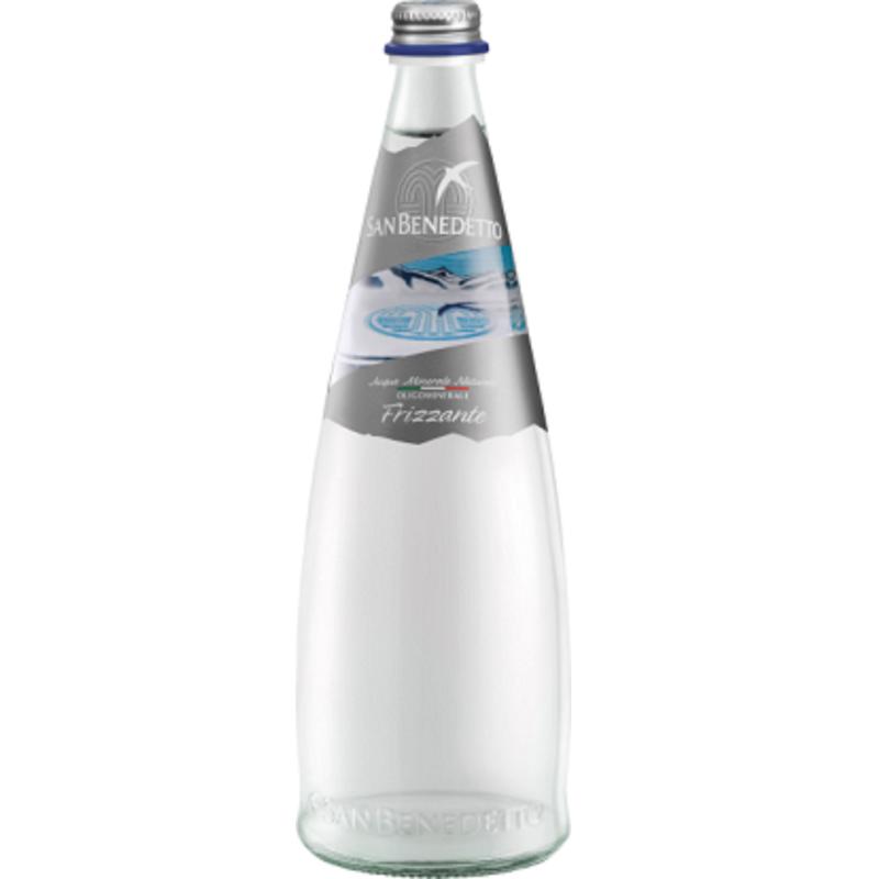 Газирана вода Сан Бенедето / San Benedetto стъклена бутилка – 0.75л.
