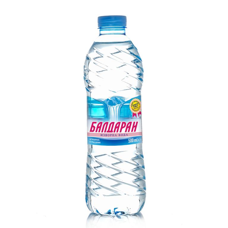 Изворна вода Балдаран 0.5л.