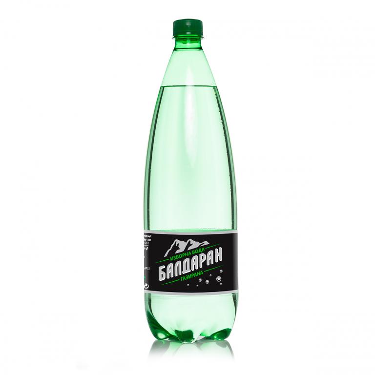 Газирана-Изворна вода Балдаран 1.5л.