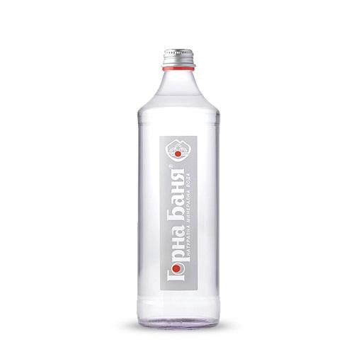 Натурална минерална вода Горна Баня 0,330мл._стъклена бутилка