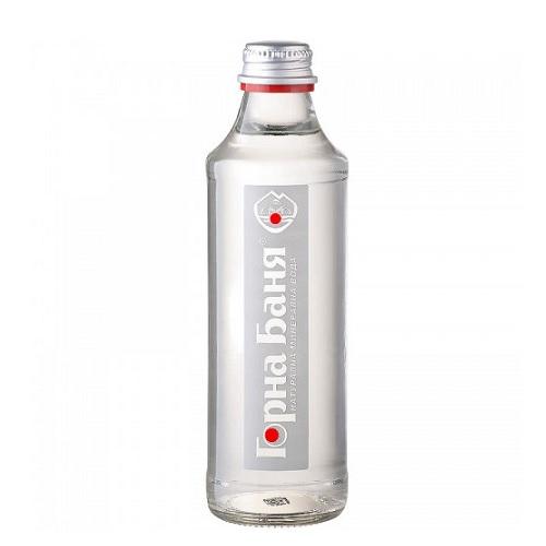 Натурална минерална вода Горна Баня 0,750л._стъклена бутилка