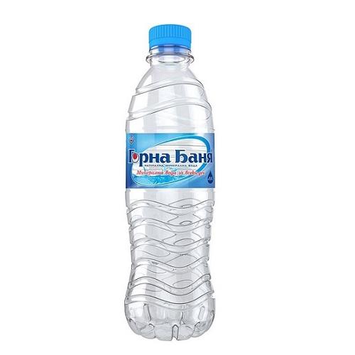 Натурална минерална вода Горна Баня-PET- 0.500мл.