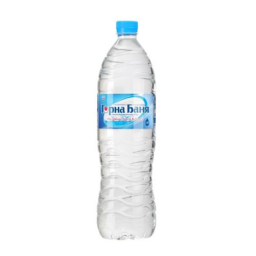 Натурална минерална вода Горна Баня-PET- 1.5л.